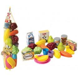 Oyuncak Fileli Meyve ve Sebzeler