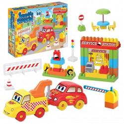 Servis İstasyonu 44 Parça Lego Blog Seti