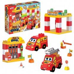 İtfaiye İstasyonu 48 Parça Lego Blog Seti
