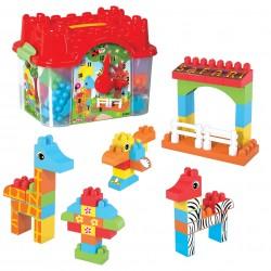 Kale Blok Seti 50 Parça Lego Seti