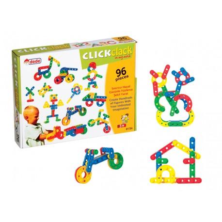 Click Clack Box Eğitici Oyuncak Lego 96 Parça