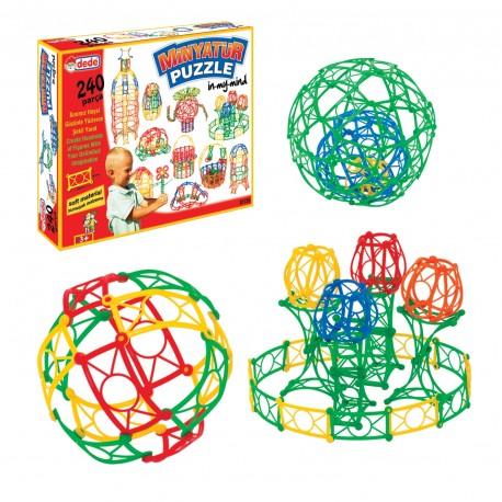 Minyatür Eğitici Oyuncak Puzzle 240 Parça