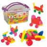 Mono Blok Box Eğitici Oyuncak Puzzle 146 Parça