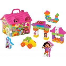 Eğitici Oyuncak Dora Ev Lego Seti Eğitici Blok