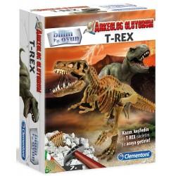 Clementoni T-Rex Arkeolojik Kazı Seti Bilim ve Oyun