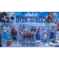 Frozen karlar ülkesi 6'lı figür seti