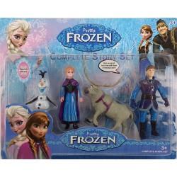 Frozen Karlar Ülkesi 4'lü Figür  Seti 1