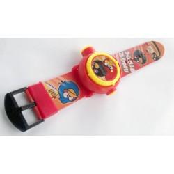 Angry Birds Projeksiyonlu Kol Saati