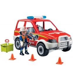 Playmobil İtfaiye Şefi Arabası 4822