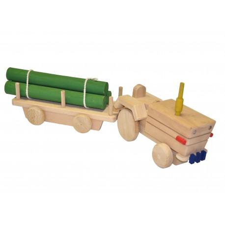 AHŞAP Büyük Traktör Vagon