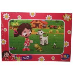 Niloya Karton Yapboz Puzzle 24 Parça