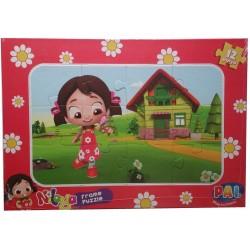 Niloya Karton Yapboz Puzzle 12 Parça