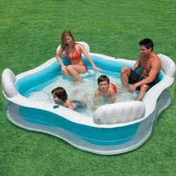 İntex 3 Renk Aile Havuzu Koltuklu 56475