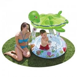 Kaplumbağa Gölgelikli Bebek Havuzu
