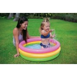İntex Sunset Şişme Bebek Havuzu 58924