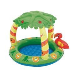 Bestway Üstü Palmiye Desenli Gölgelikli Çocuk Havuzu 52179