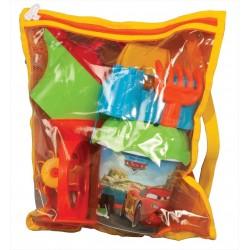 Cars Çantalı Kova Seti 01584