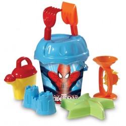 Spiderman Aksesuarlı Büyük Kova Seti