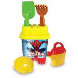 Spiderman Aksesuarlı Küçük Kale Kova Seti