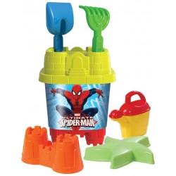 Spiderman Aksesuarlı Büyük Kale Kova Seti