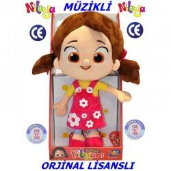 Niloya Müzikli Peluş Oyuncak Bebek 40cm
