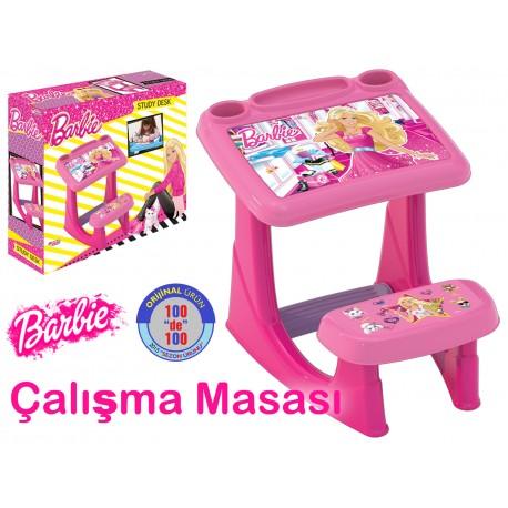 Barbie Yeni Ders Çalışma Masası