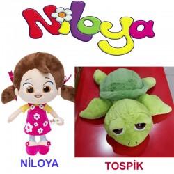 Niloya + Tospik Peluş Oyuncak Seti 3