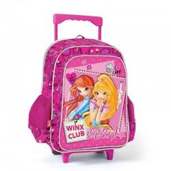 Winx Clup Çekçek Okul Çantası Tekerlekli Çanta 63173