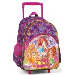 Winx Clup Çekçek Okul Çantası Tekerlekli Çanta 63180