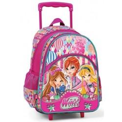 Winx Clup Çekçek Okul Çantası Tekerlekli Çanta 63183