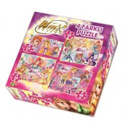 Winx Eğitici Çocuk Yapboz Puzzle