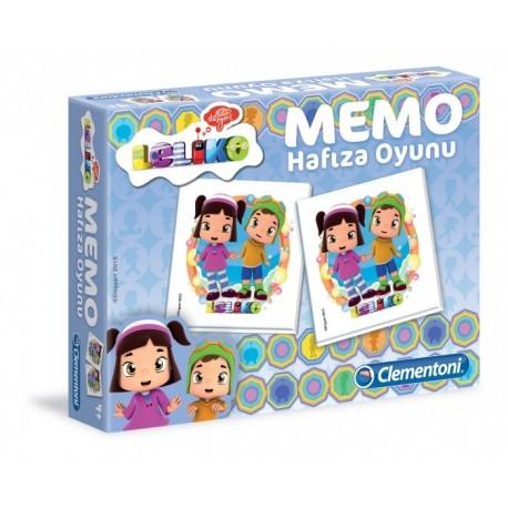 Leliko Clementoni Memo Hafıza Oyunu
