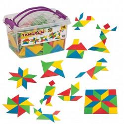 Tangram Box Eğitici Blok 56 Parça