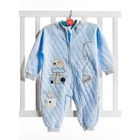 Baby Center Salyangoz Nakışlı Capitone Uyku Tulumu