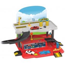 Otopark Garaj Seti 2 Katlı Oyuncak Garaj