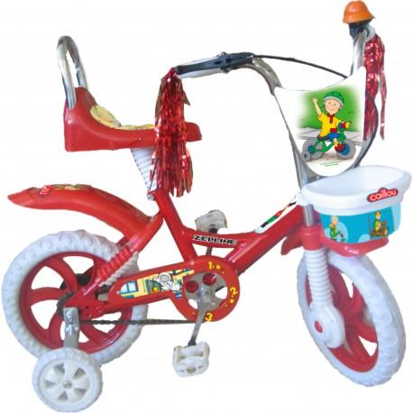 """Caillou Bisiklet (14"""") Dolgu Tekerli"""