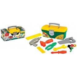 Oyuncak Çantalı Tamir Seti 12 Parça 3030
