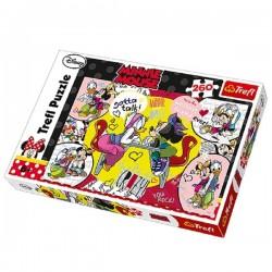 Trefl 260 Parça Çocuk Yapboz Minnie Mouse Puzzle