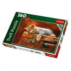 Trefl 260 Parça Çocuk Yapboz Kedicik Puzzle