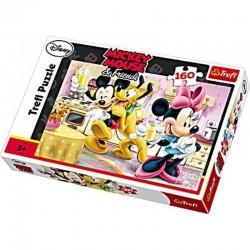 Trefl 160 Parça Çocuk Yapboz Mickey Mouse Eğitici Puzzle