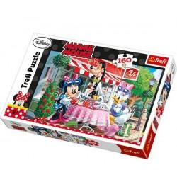Trefl 160 Parça Çocuk Yapboz Minnie Mouse Puzzle