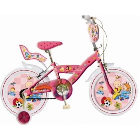 """Caillou Bisiklet (16"""") pembe bisiklet"""