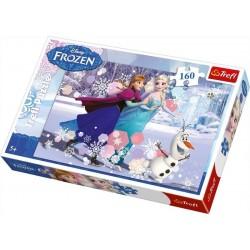 Trefl 160 Parça Çocuk Yapboz Frozen Eğitici Puzzle