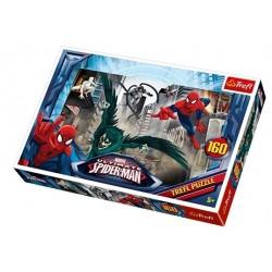 Trefl 160 Parça Çocuk Yapboz Spiderman Eğitici Puzzle 15319
