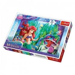 Trefl 100 Parça Çocuk Yapboz Deniz Kızı Eğitici Puzzle