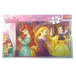 Trefl 160 Parça Çocuk Yapboz Disney Prenses Eğitici Puzzle