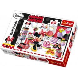 Trefl 60 Parça Çocuk Yapboz Minnie Mouse Puzzle
