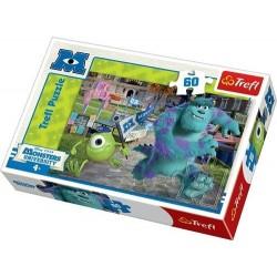 Trefl 60 Parça Çocuk Yapboz Monster Üniversity Eğitici Puzzle