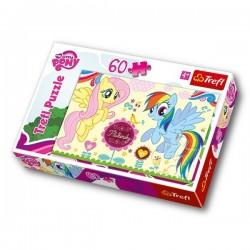 Trefl 60 Parça Çocuk Yapboz Pony Eğitici Puzzle