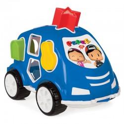 Eğitici Pepee 10 Parça Bultak Araba Bul Tak